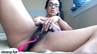 Very hairy mother i´d like to fuck self-gratification