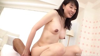 Japanese mature gets her frontier fingers on a fit dong for her sexual needs