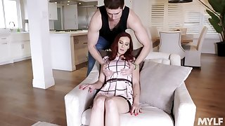 Sexy nextdoor milf Lilian Stone allows to charge from her big boobies and wet pussy
