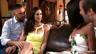 Slutty wife Adriana Chechik shared her spouse with Kendra Concupiscence