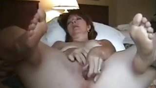 Of age wife masturbating to reach orgasm