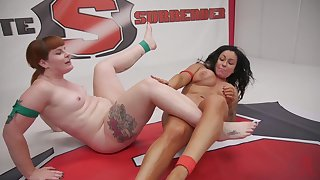 Milfs in scenes of dirty lesbian catfight
